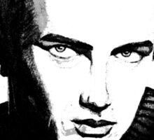 Jimmy Dean: Black & White Sticker