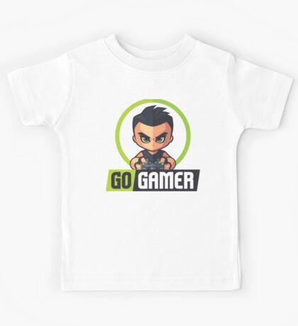 Gamers Unite! Go Gamers! Kids Tee