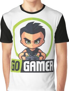 Gamers Unite! Go Gamers! Graphic T-Shirt