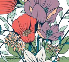 Botanical pattern 005 Sticker