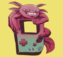 Axolotl Game Boy by franckrodri