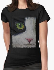Japanese Bobtail Cat Womens Fitted T-Shirt
