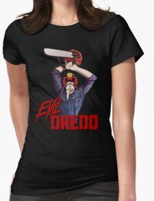 Evil Dredd Womens Fitted T-Shirt