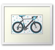 Road Bike Graphic-Sprinter+ Framed Print