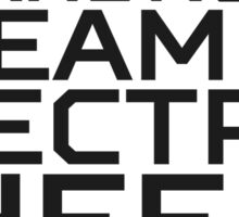 Do Androids Dream Of Electric Sheep Philip K. Dick Quote Science Fiction Bladerunner Sticker