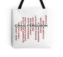 Craig Ferguson Name Tree Tote Bag