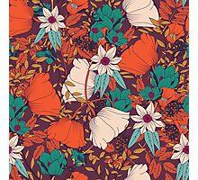 Botanical pattern 010 Photographic Print