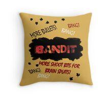 More Shoot Bits for Brain Splats! Throw Pillow