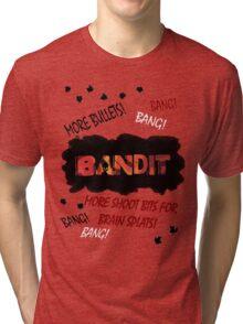 More Shoot Bits for Brain Splats! Tri-blend T-Shirt