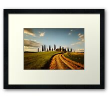Postcard from Toskany Framed Print
