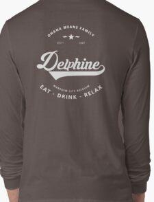 Ohana - Delphine - wit Long Sleeve T-Shirt