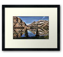 Bow Lake Framed Print