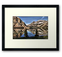 Bow Lake Framed Print