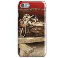 Boat Engine Under Repair iPhone Case/Skin