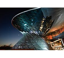BMW Welt: Night Vision Photographic Print