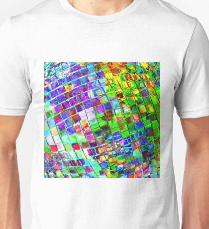 Psychedelic Planet Disco Ball Unisex T-Shirt