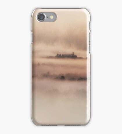 Foggy morning in Toskany iPhone Case/Skin