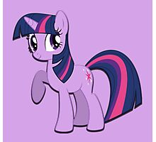 Twilight Sparkle (My Little Pony) (W/V) Photographic Print