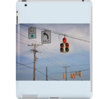 A Confusing Intersection iPad Case/Skin
