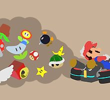 Mario Kart Item fury  by PepperMoon