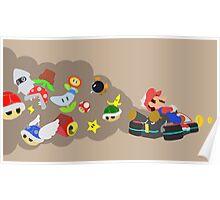 Mario Kart Item fury  Poster