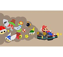 Mario Kart Item fury  Photographic Print