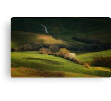 Inpression with trees Canvas Print
