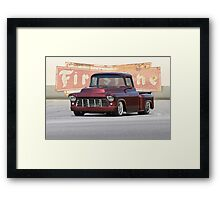 1956 Chevrolet Custom Pickup Framed Print