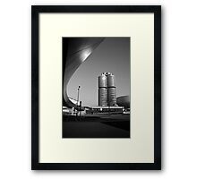 BMW Bridge between Worlds Framed Print