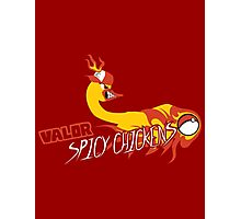 Valor Spicy Chickens Photographic Print