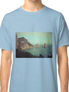 Amalphi coast, Capri, Italy 4 Classic T-Shirt