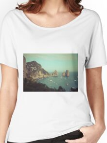 Amalphi coast, Capri, Italy 4 Women's Relaxed Fit T-Shirt