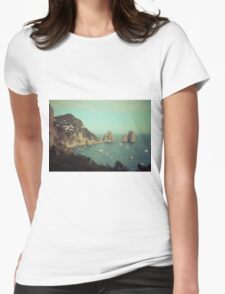 Amalphi coast, Capri, Italy 4 Womens Fitted T-Shirt