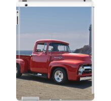 1956 Ford F100 at Pigeon Point  iPad Case/Skin