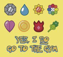 Pokémon Gym Hero - Indigo League One Piece - Short Sleeve