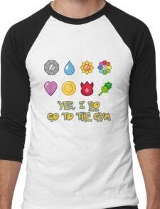 Pokémon Gym Hero - Indigo League Men's Baseball ¾ T-Shirt