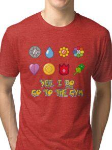 Pokémon Gym Hero - Indigo League Tri-blend T-Shirt