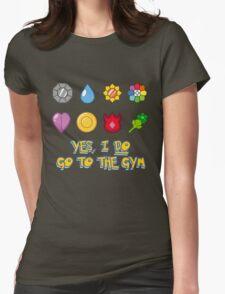 Pokémon Gym Hero - Indigo League Womens Fitted T-Shirt