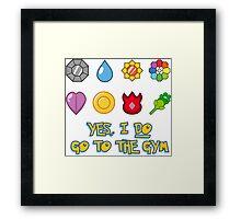 Pokémon Gym Hero - Indigo League Framed Print
