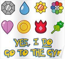 Pokémon Gym Hero - Indigo League Poster