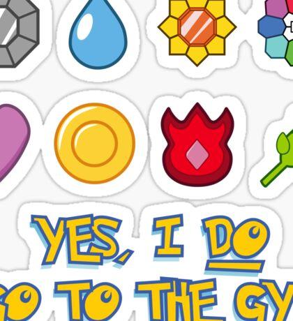 Pokémon Gym Hero - Indigo League Sticker