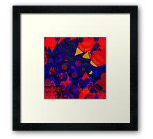 Geometry Glitch n.4 Framed Print