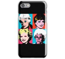 Golden Warhol Girls iPhone Case/Skin