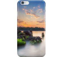 Fishbourne Breakwater Sunset iPhone Case/Skin