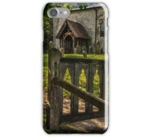 The Path To Ibstone Church iPhone Case/Skin