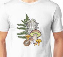 mushroom forest Unisex T-Shirt