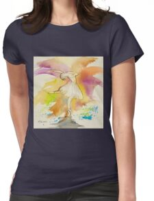 TINY DANCERS IN COLOUR 3 Womens Fitted T-Shirt