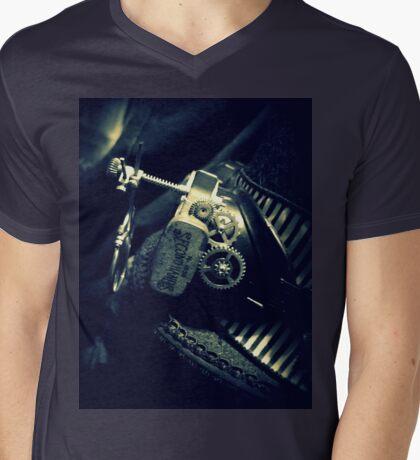 Steampunk Ladies Hat 2.2 Mens V-Neck T-Shirt