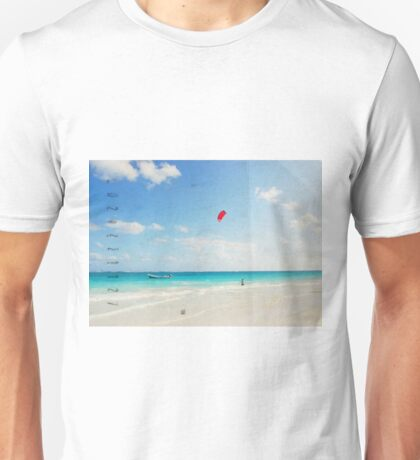 Carribean sea2 Unisex T-Shirt