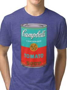 Campbell's Soup Can - Andy Warhol Print Tri-blend T-Shirt